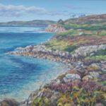 Gairloch Coastline, Late Summer, oil, SOLD