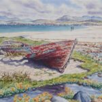 Old Boat, Mellon Udrigle, SOLD; prints available