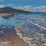 Red Point Beach, Wester Ross, oil, SOLD