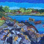 Rowing Boats, Sheildaig, Gairloch, 33x39cm framed, £170