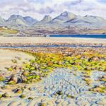 Sand Beach, Gairloch, watercolour, 48x59cm framed, £230; prints available