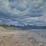 Stormy Skies over The Torridons from Sand Beach, Gairloch, SOLD; Limited edition prints available