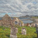 The Old Chapel, Laide, Wester Ross, oil, 70x90cm framed, £620